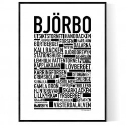 Björbo Poster