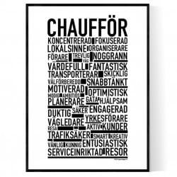 Chaufför Poster