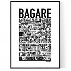 Bagare Poster
