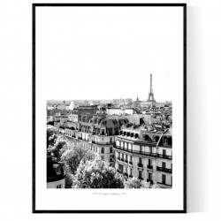 Paris Printemps Poster