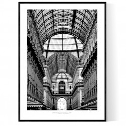 Milano Galleria Poster
