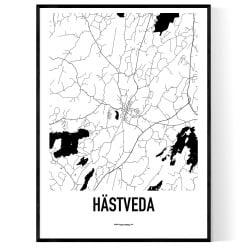 Hästveda Karta
