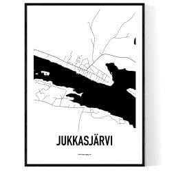 Jukkasjärvi Karta