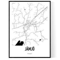 Jämjö Karta