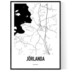 Jörlanda Karta