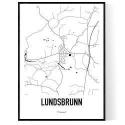 Lundsbrunn Karta