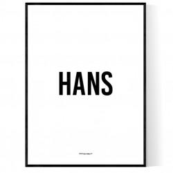 Hans Poster