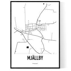 Mjällby Karta
