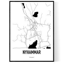 Nyhammar Karta