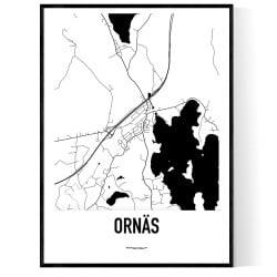 Ornäs Karta