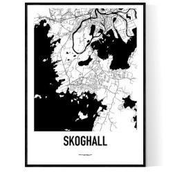 Skoghall Karta