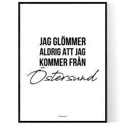 Från Östersund
