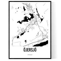 Öjersjö Karta