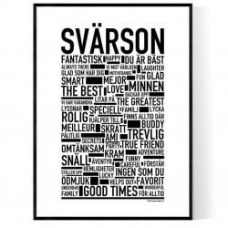 Svärson Poster