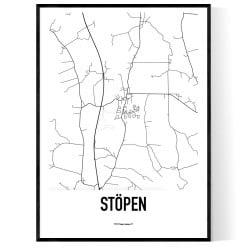 Stöpen Karta