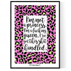 Fucking Queen Poster