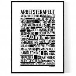 Arbetsterapeut Poster
