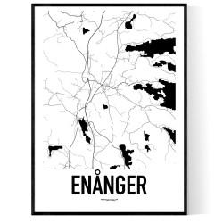 Enånger Karta Poster