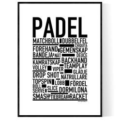 Padel Poster