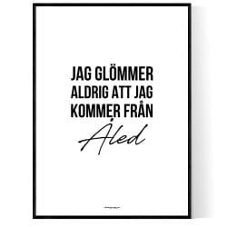 Från Åled
