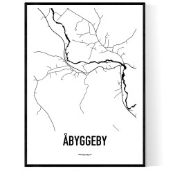 Åbyggeby Karta
