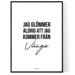 Från Vänge