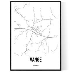 Vänge Karta