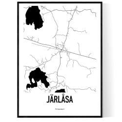 Järlåsa Karta