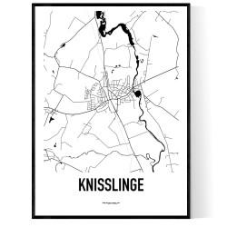Knisslinge Karta