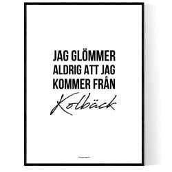 Från Kolbäck
