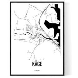 Kåge Karta