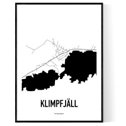 Klimpfjäll Karta