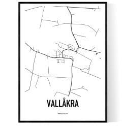Vallåkra Karta