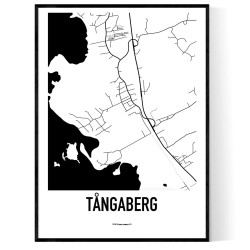 Tångaberg Karta