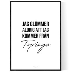 Från Tyringe