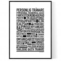 Personlig Tränare Poster