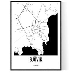 Sjövik Karta