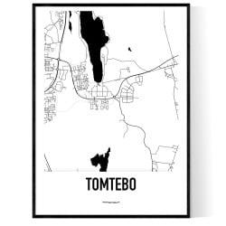 Tomtebo Karta