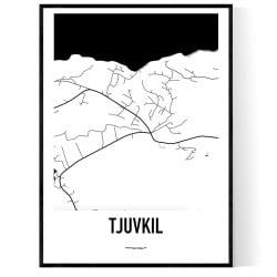 Tjuvkil Karta
