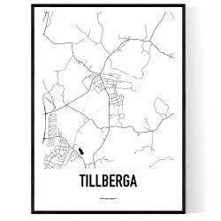 Tillberga Karta