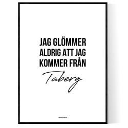 Från Taberg