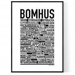 Bomhus Poster
