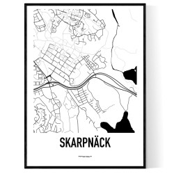 Skarpnäck Karta