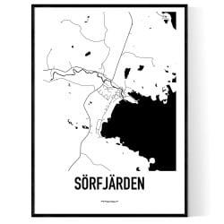 Sörfjärden Karta