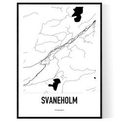 Svaneholm Karta
