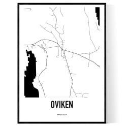 Oviken Karta