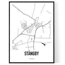 Stångby Karta