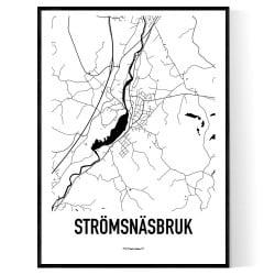 Strömsnäsbruk Karta