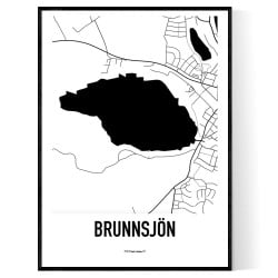 Brunnsjön Karta