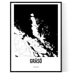 Gräsö Karta